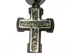 Крест  подвеска в машину ,размер 5х4,5 см.