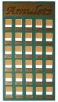 Стенд для двухсторонних амулетов из латуни