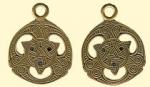 Амулет двухсторонний  Кельтский Трисель