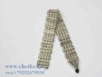 перекидные четки металлические под серебро